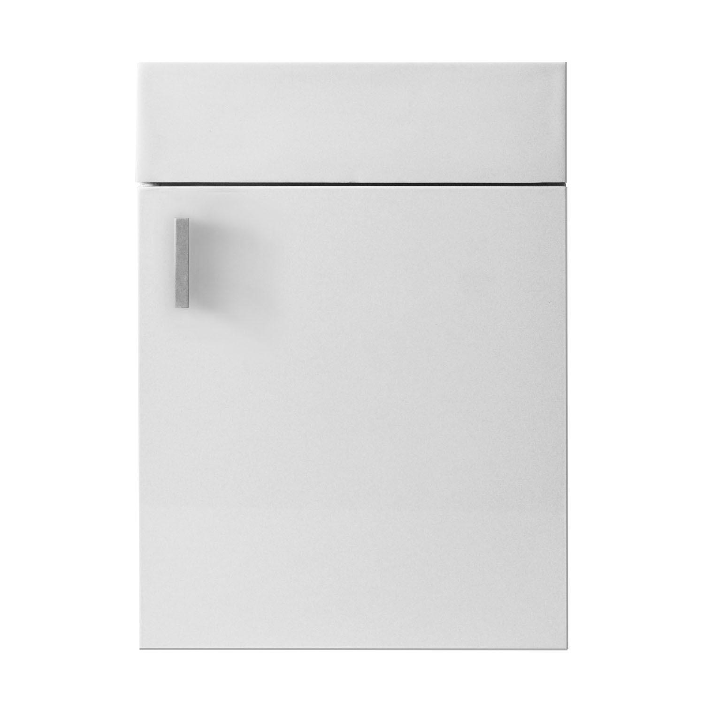 Virtu JS-50416-GW Carino 16 Inch Single Bathroom Vanity Set In Gloss White