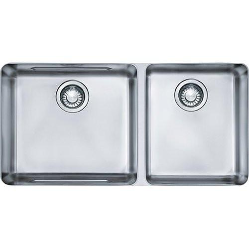 Franke KBX12034 34-34 Stainless Steel 2.0 Bowl Undermount Kitchen Sink