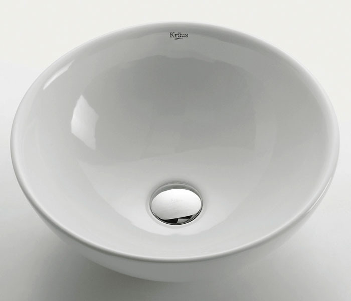 Kraus KCV-141 16''. Above Counter Stain Resistant Sink