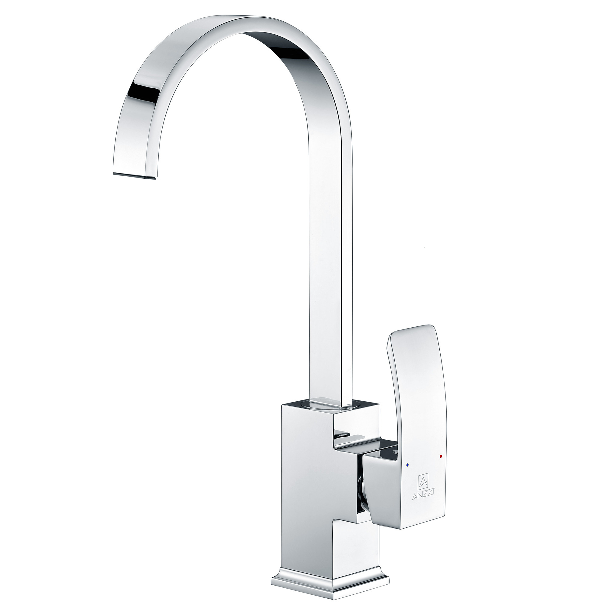 ANZZI KF-AZ035 Opus Kitchen Faucet In Brushed Nickel With Single Handle