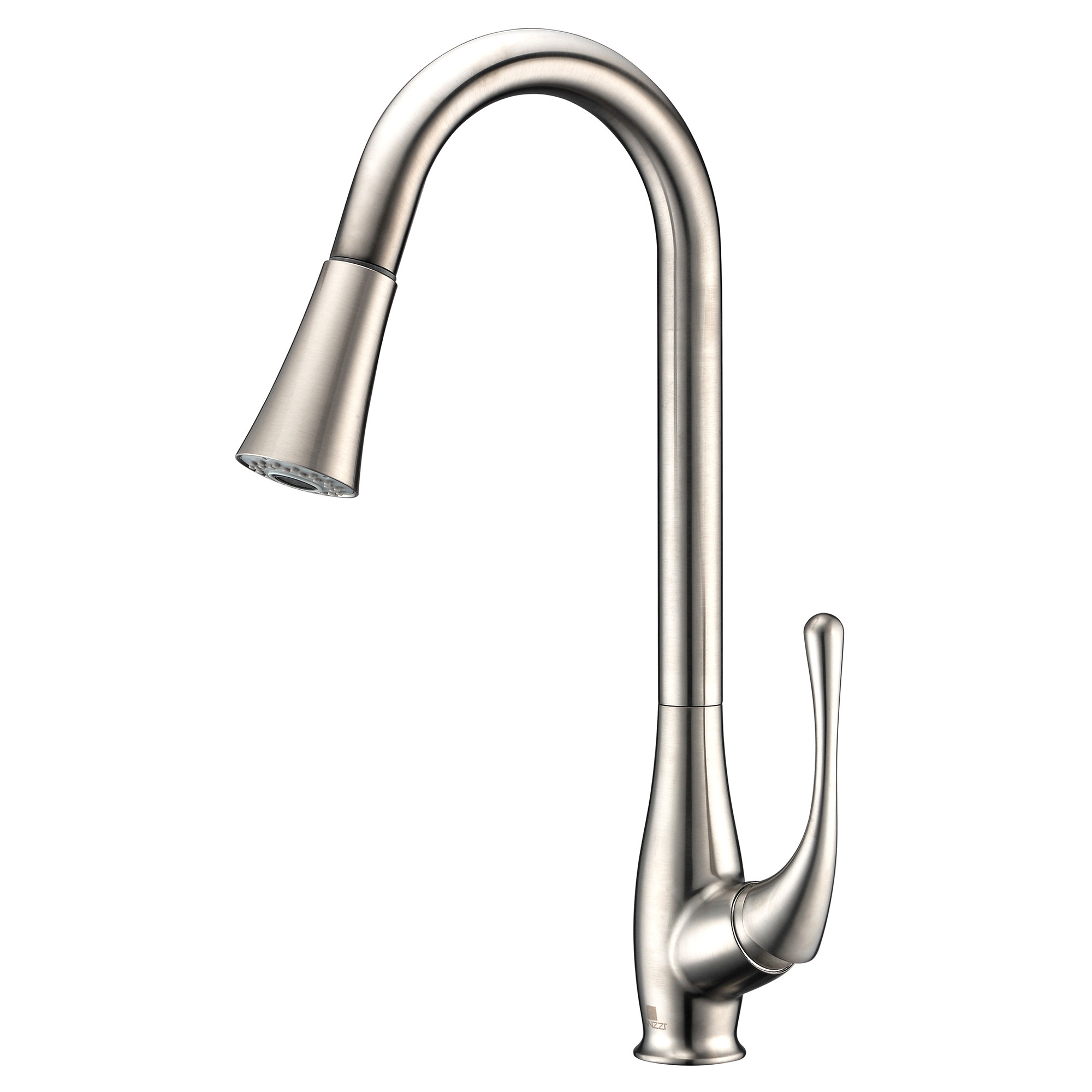 ANZZI KF-AZ042 Singer Brass Pull Down Kitchen Faucet In Polished Chrome