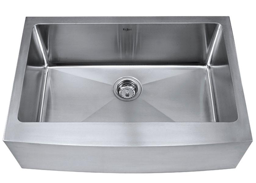 Kraus KH-200-30 30'' T-304 Stainless Steel Farm Sink