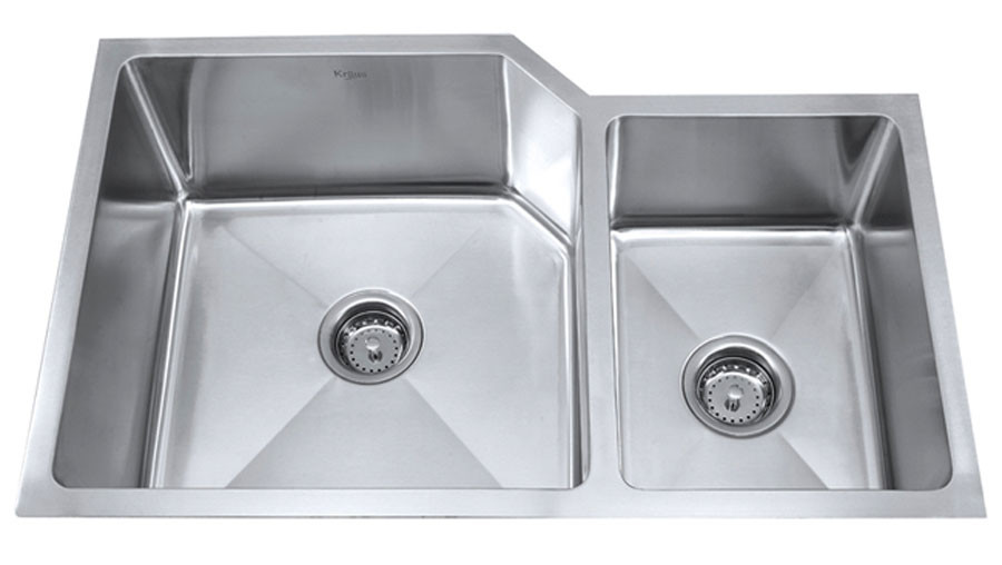 Kraus KHU-123-32 32'' Stainless Steel Kitchen Sink