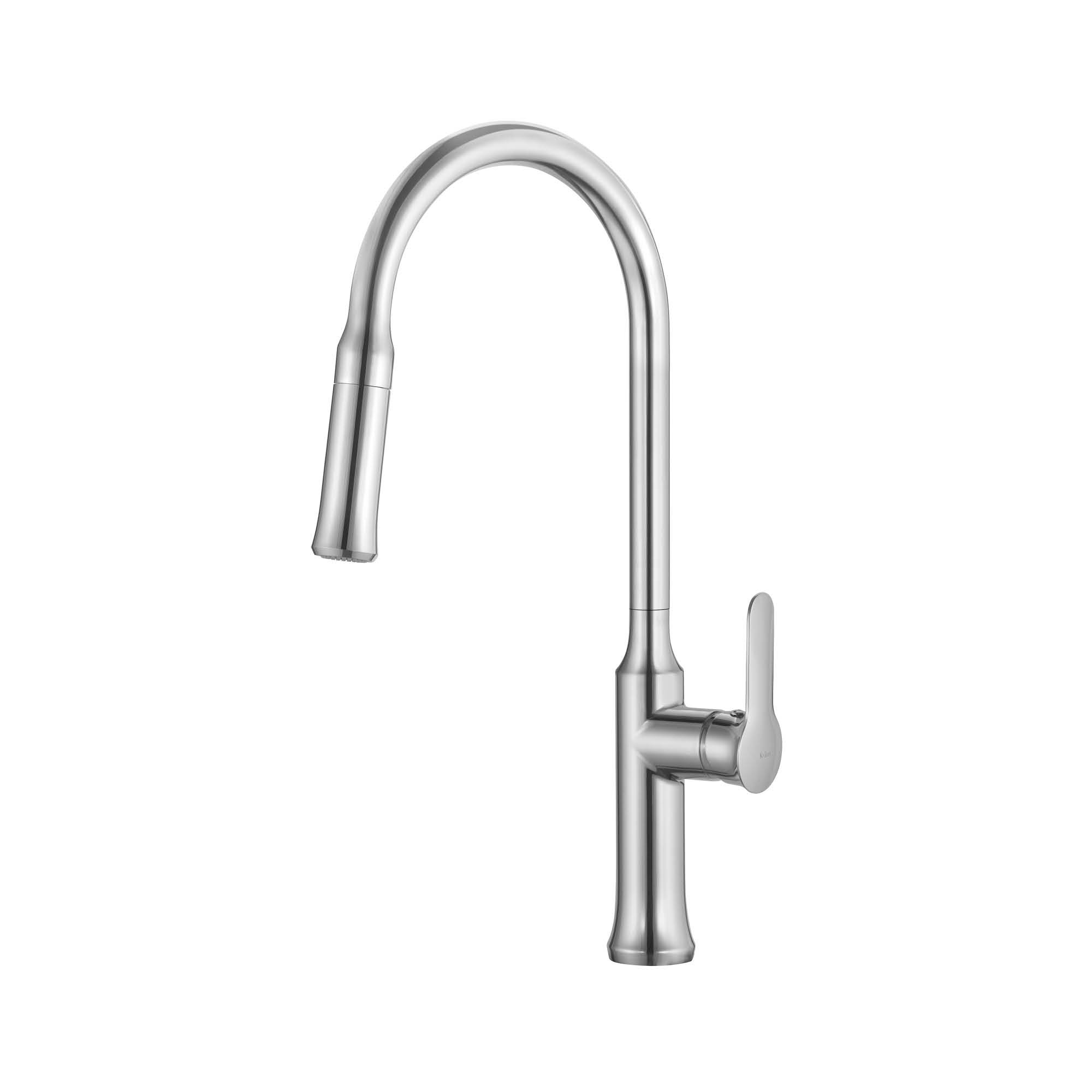 Kraus KPF-1630CH Kraus Nola Single Lever Pull Down Kitchen Faucet in Chrome