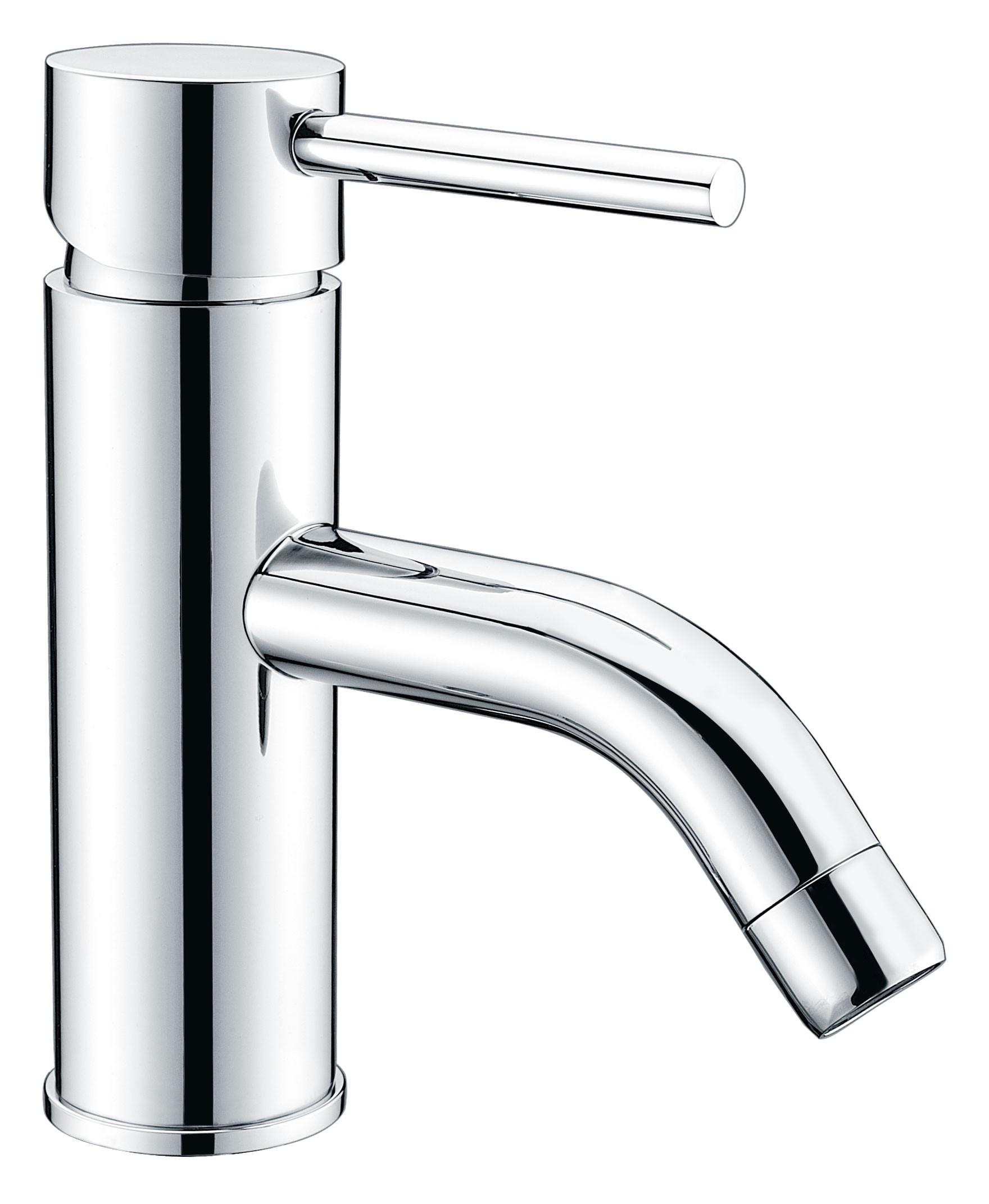 ANZZI L-AZ030 Bravo Brass Low-Arc Bathroom Faucet In Polished Chrome