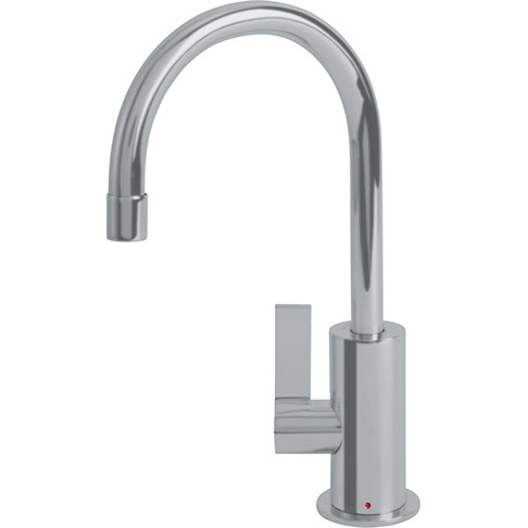 Franke LB10180 Ambient Kitchen Series Little Butler Point-of-Use Faucet Hot Only in Satin Nickel