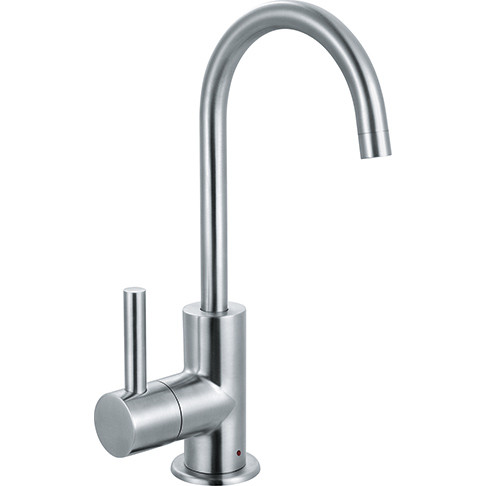 Franke LB13150 Kitchen Series Little Butler Point of Use Faucet Hot Only in Stainless Steel