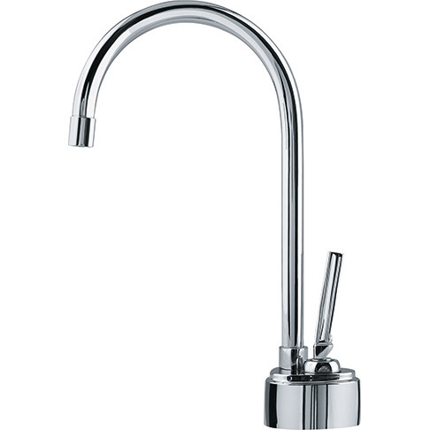 Franke LB8100 HT Hot Water Dispenser Faucet with Swivel Spout in Chrome