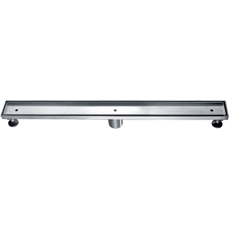 "Dawn® LCO320304 Colorado River Series Linear Shower Drain 32""L In Polished Satin"
