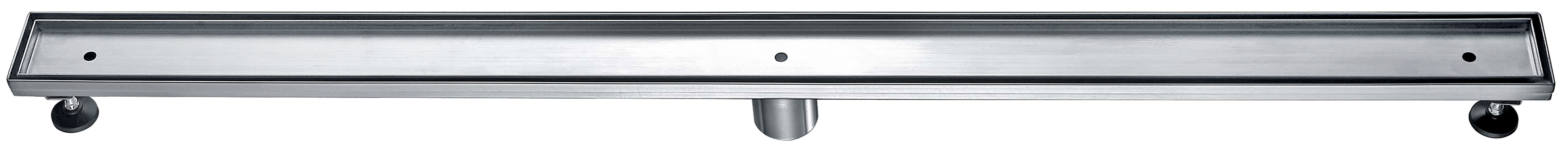 "Dawn® LCO470304 Colorado River Series Linear Shower Drain 47""L In Polished Satin"