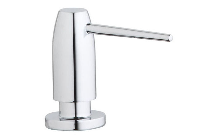 Elkay LK325 Avado Collection  Solid Brass Soap Dispenser, Shown in Chrome