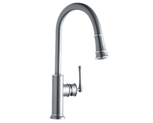 Elkay LKEC2031CR Explore Pullout Spray Single Handle Kitchen Faucet In Polished Chrome