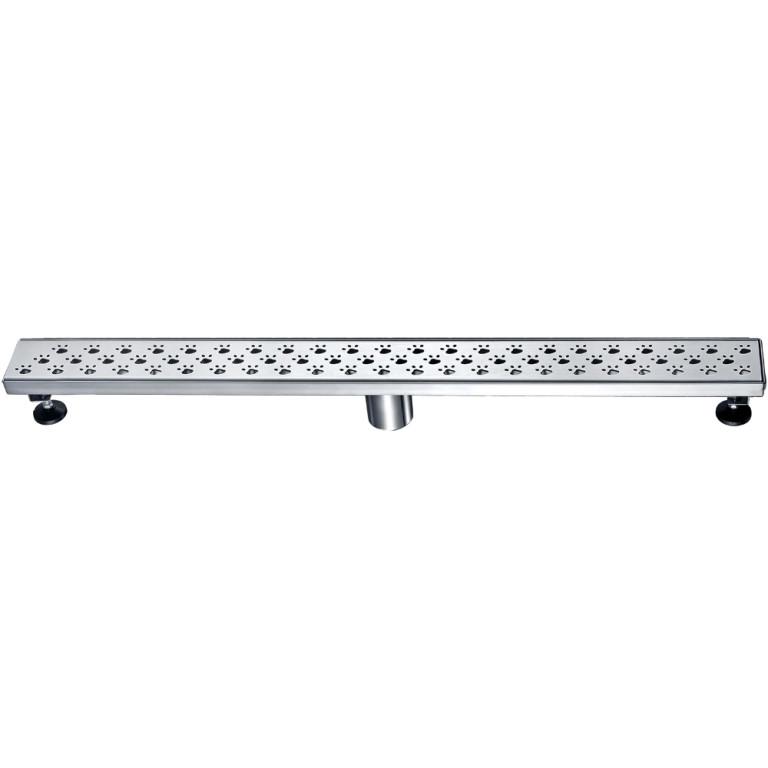 "Dawn® LMU320304 Memuru River Series Linear Shower Drain 32""L In Polished Satin"
