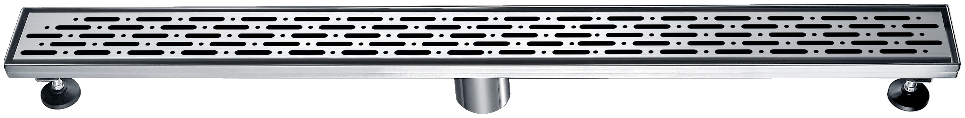 "Dawn® LRO320304 Rio Orinoco River Series Linear Shower Drain 32""L In Polished Satin"