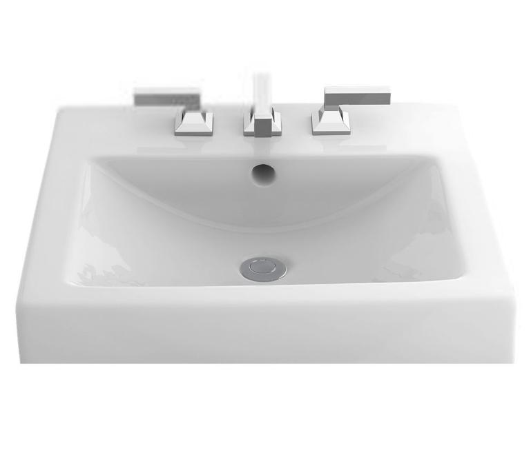 TOTO LT155 Vernica ™ Design II Self-Rimming Lavatory Sink In Cotton