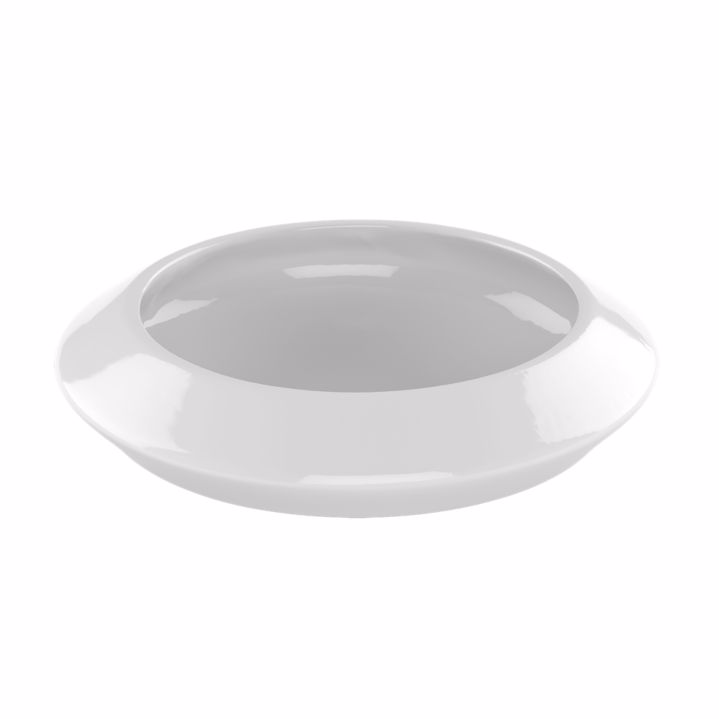 TOTO LT185#01 Curva™ Vitreous China Above Mount Bathroom Sink In Cotton