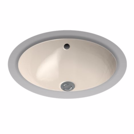 TOTO LT193G#03 Bone Round Undercounter Lavatory Sink