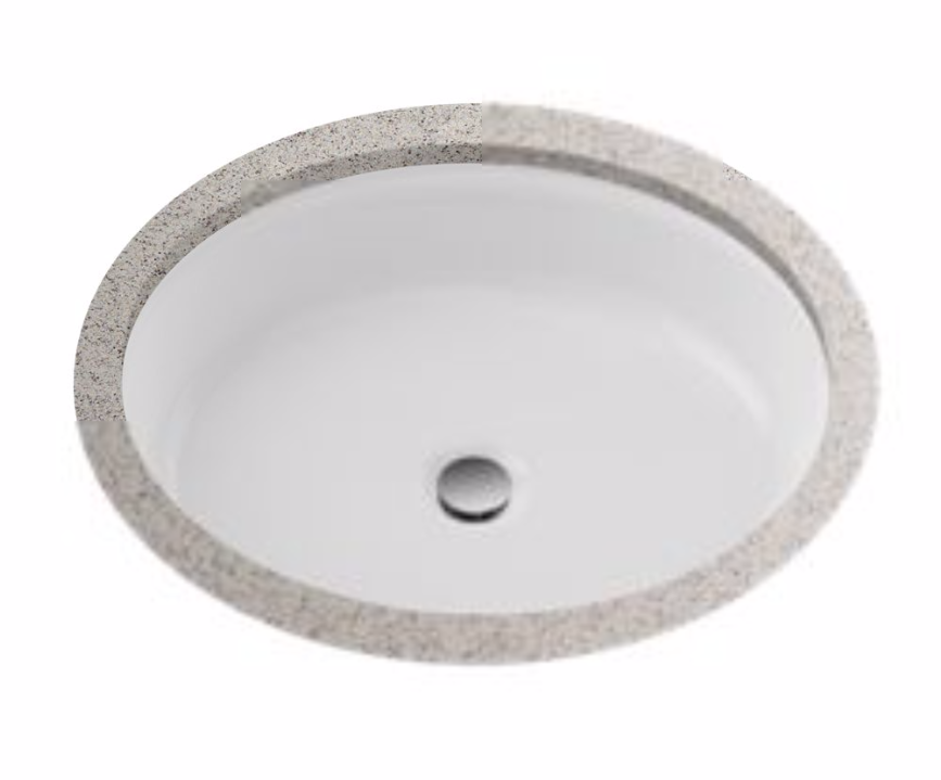 TOTO LT231#01 Atherton™ Vitreous China Undercounter Lavatory Sink In Cotton