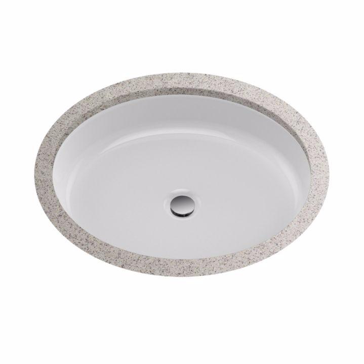 TOTO LT233#01 Atherton™ Round Undermount Bathroom Sink In Cotton