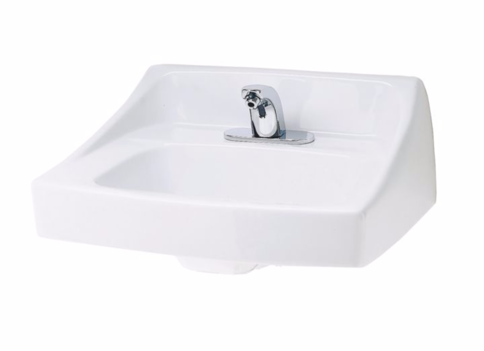 TOTO LT307 Commercial Vitreous China Wall-Mount Lavatory Sink