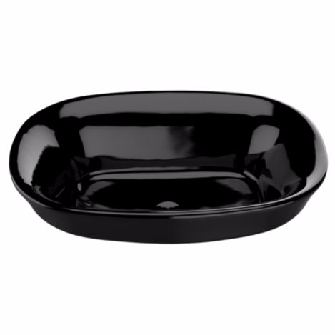 TOTO LT480#51 Ebony Maris™ Semi-Recessed Vessel Lavatory Sink