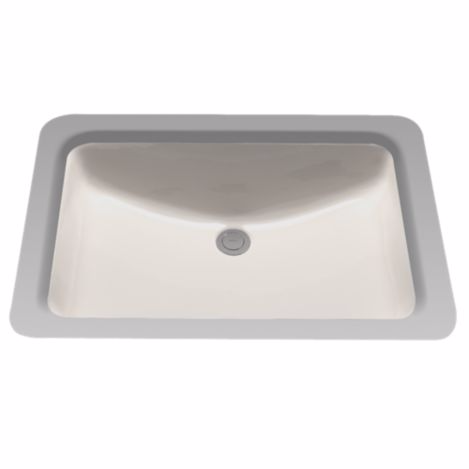 TOTO LT540G#12 Sedona Beige Undercounter Lavatory Sink With CeFiONtect™ Ceramic Glaze