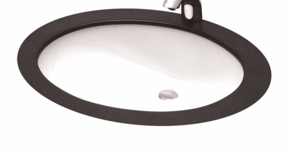 TOTO LT569#01 Cotton Undercounter Lavatory Sink With Front Overflow