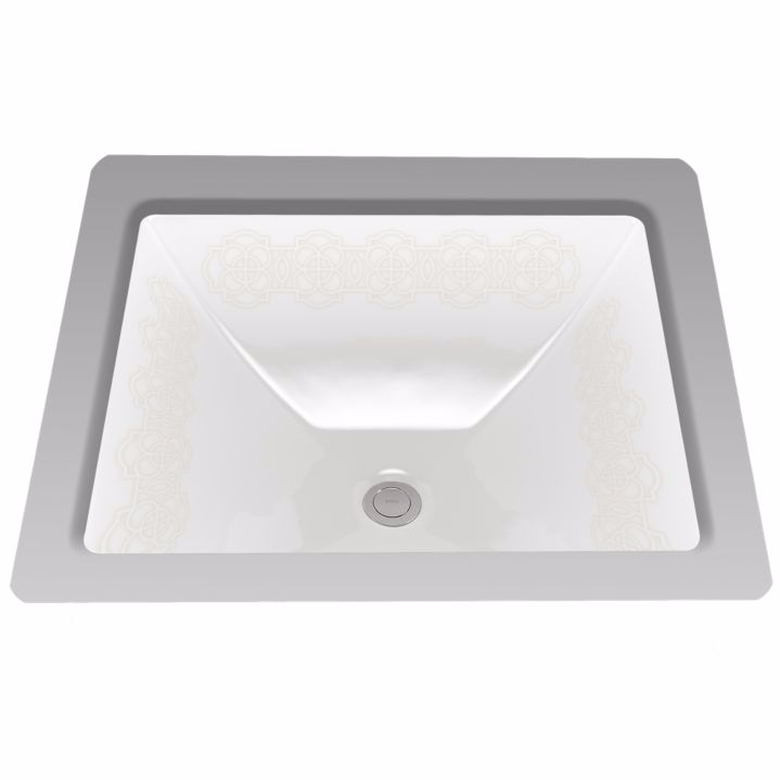 TOTO LT624#01-NB Waza® Sultana™ Undercounter Lavatory Sink In Cotton