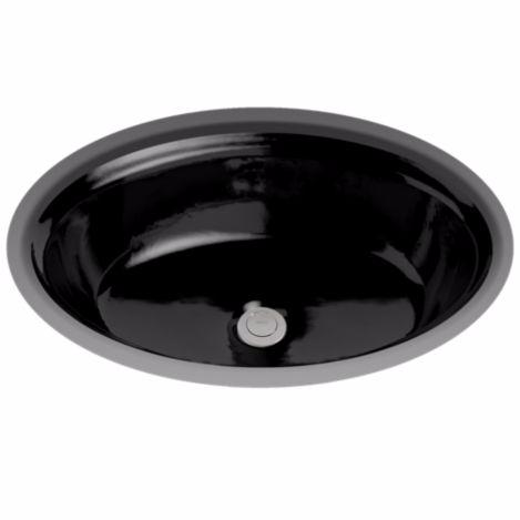 TOTO LT643#51 Ebony Traditional Design Undercounter Bathroom Sink