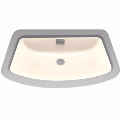 TOTO LT967#03 Bone Soirée® Undercounter Lavatory Sink With a Large Backsplash