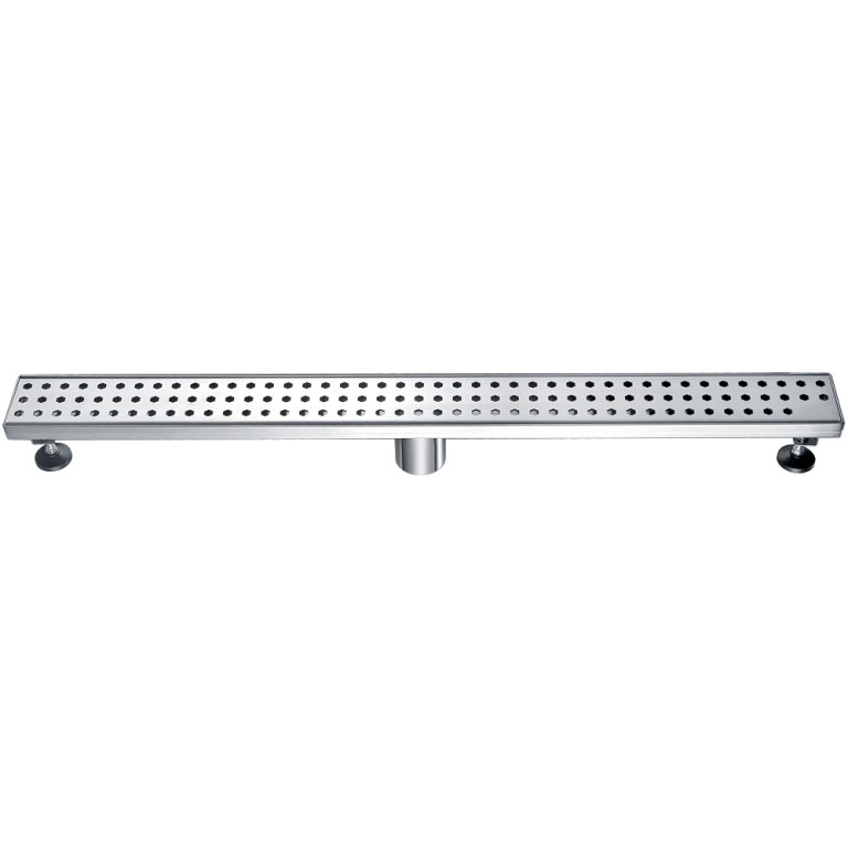 "Dawn® LTS320304 Thames River Series Linear Shower Drain 32""L In Polished Satin"