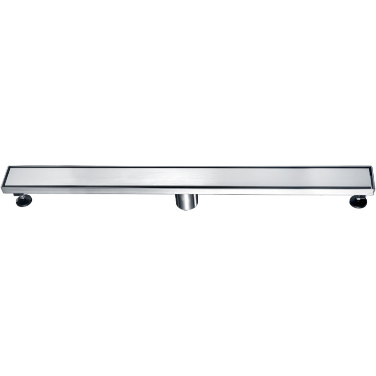 "Dawn® LVA320304 Volga River Series Linear Shower Drain 32""L In Polished Satin"