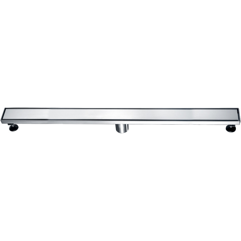 "Dawn® LVA360304 Volga River Series Linear Shower Drain 36""L In Polished Satin"