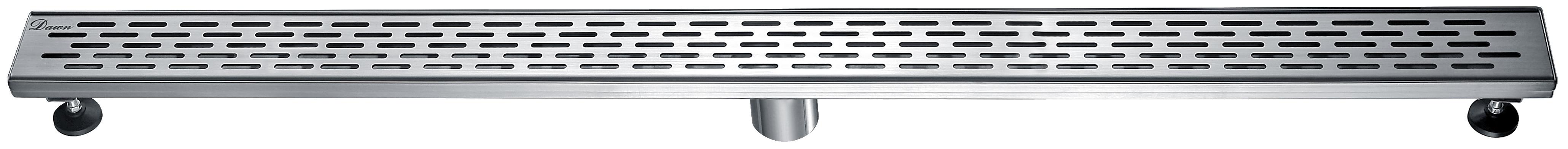 "Dawn® LYE470304 Yangtze River Series Linear Shower Drain 47""L In Polished Satin"
