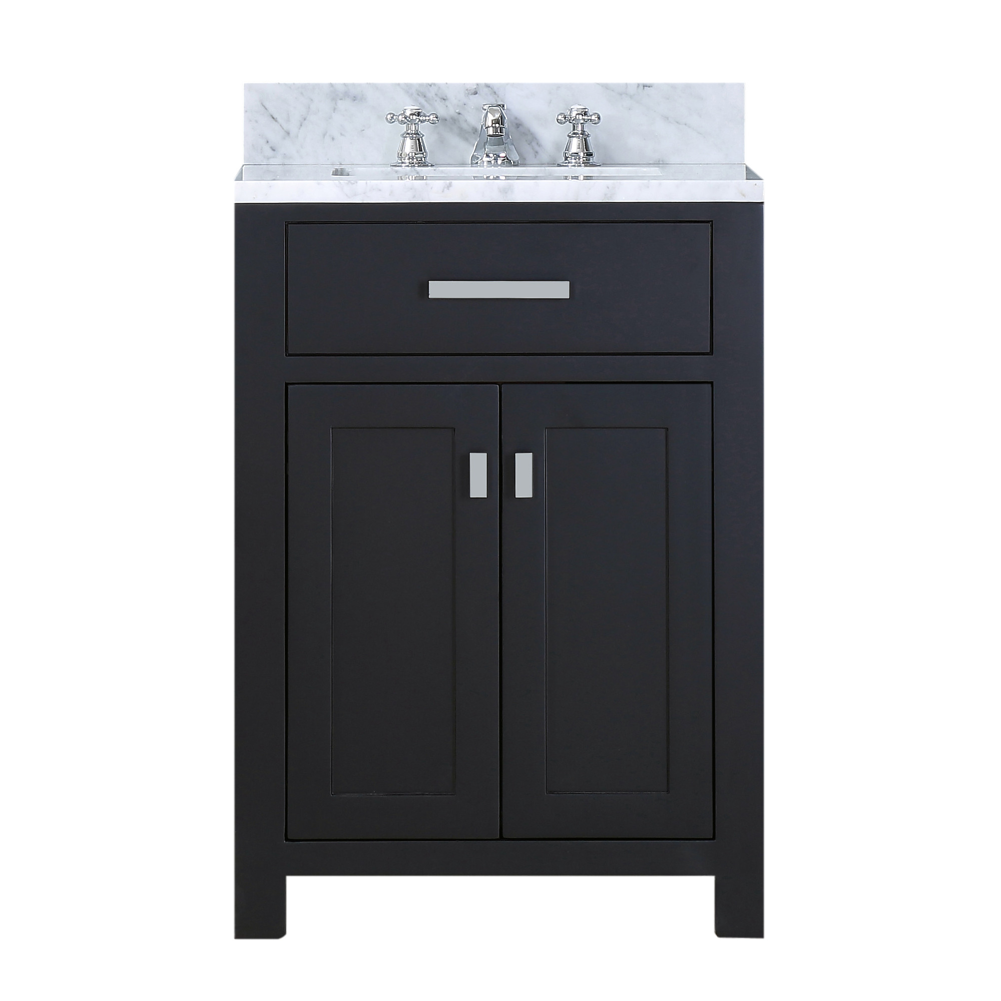 """Water Creation Madison24EF 24"""" Espresso Single Sink Bath Vanity with Faucet"""