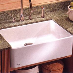 "Franke MHK110-20 20"" Single Bowl Fireclay Apron Farmhouse Kitchen Sink"