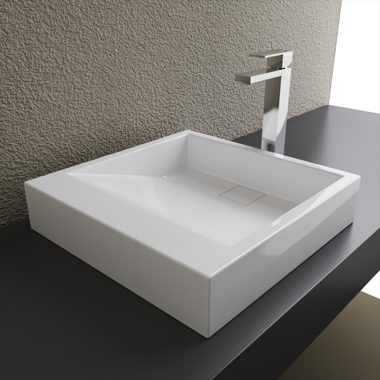 Cantrio Koncepts ST-18184 Solid Surface Sink