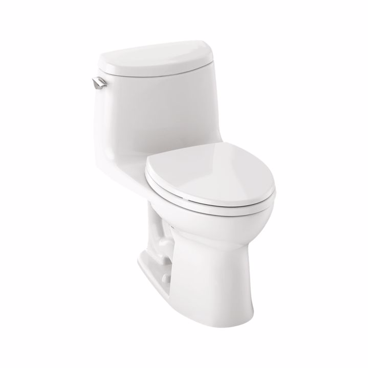 TOTO MS604114CUFG#01 UltraMax II One Piece Elongated Toilet In Cotton With SoftClose Seat
