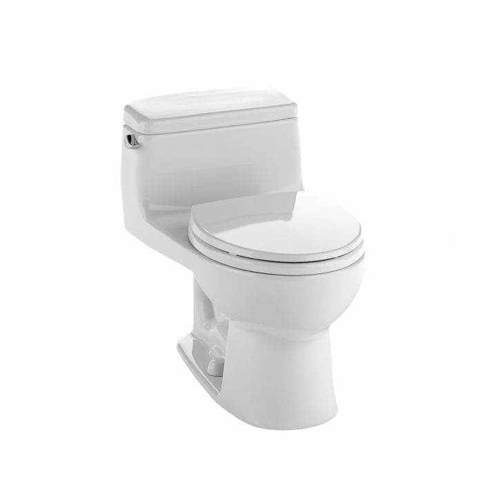 TOTO MS864114E Eco Supreme Floor Mount Elongated Bowl One Piece Toilet