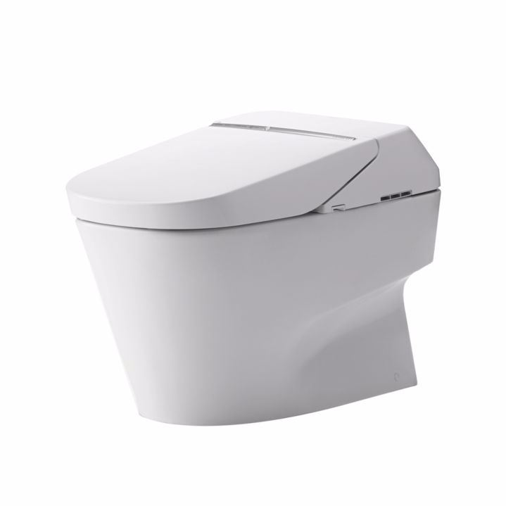 TOTO MS992CUMFG#01 Neorest 700H Dual Flush Elongated Toilet In Cotton With Ewater+