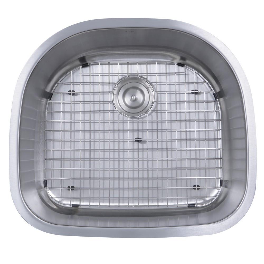 Nantucket Sinks NS03i-16 Sconset 23-Inch D-Bowl Undermount Kitchen Sink