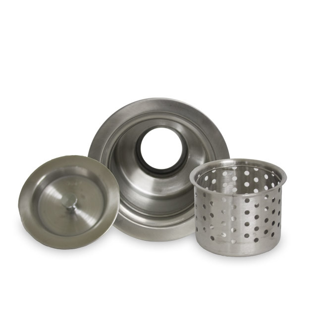 Nantucket NS35CD Stainless Steel Drain W/ Built-In Removable Strainer