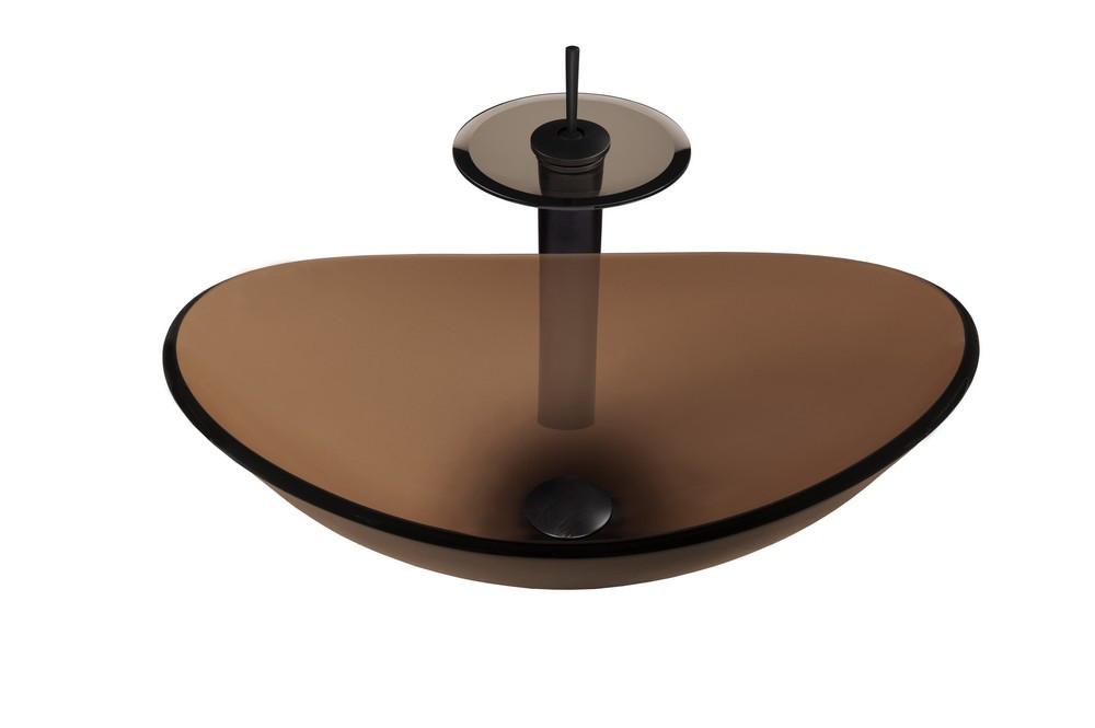 Novatto NSFC-324T001ORB BABBUCCIA Bathroom Sink Set - Oil Rubbed Bronze