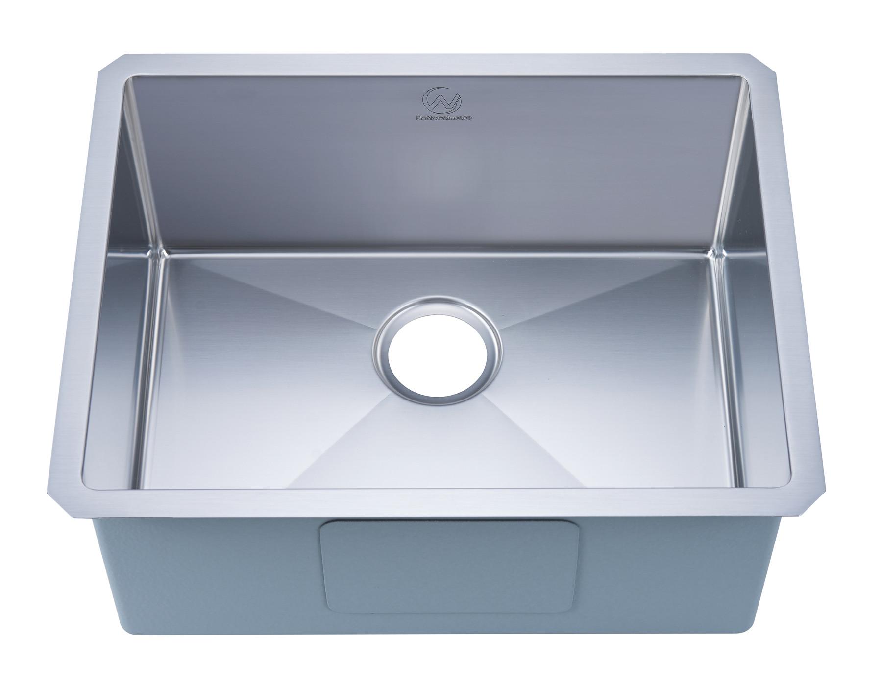 Stufurhome NW-2318S Undermount Stainless Steel 23 Inch Single Bowl Kitchen Sink