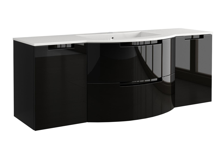 LaToscana OA57OPT4 Oasi Vanity - Black Finish