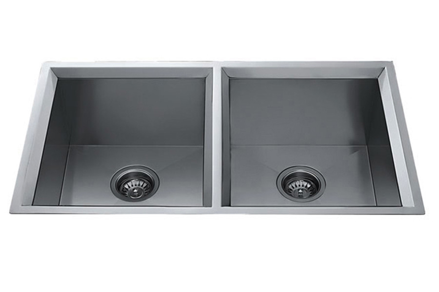 Parmir OS-B23 Double Bowl Undermount Stainless Steel Kitchen Sink
