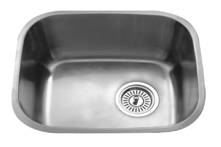 Parmir OS-B31 Single Bowl Oval Undermount Stainless Steel Kitchen Sink