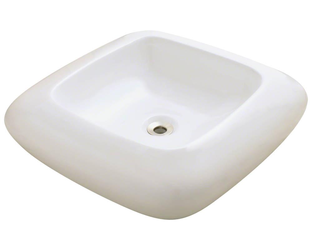 Bisque Porcelain Vessel Sink