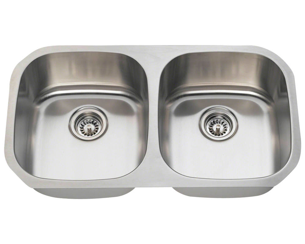 Equal Double Bowl Stainless Steel Sink