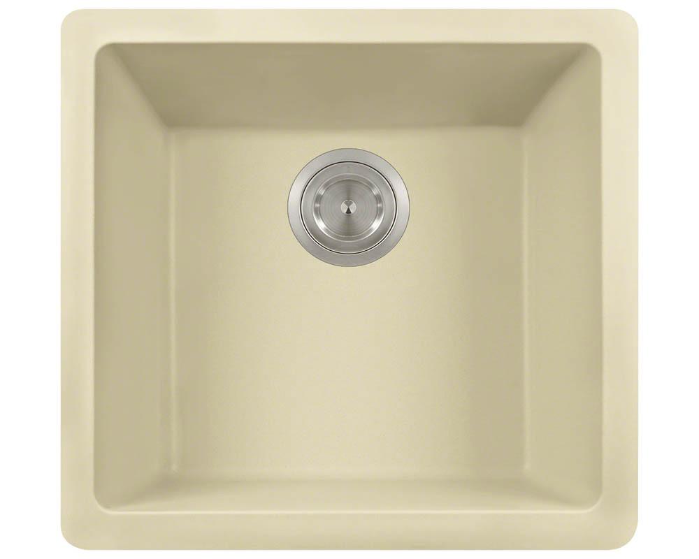 Polaris Sinks P508-Beige Single Bowl Rectangular AstraGranite Sink